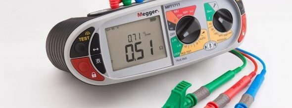 Electrician`s Multifunction Tester
