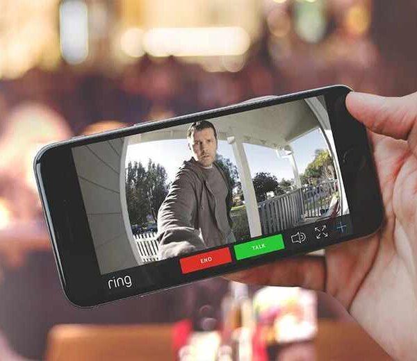 Ringdoorbell on mobile phone