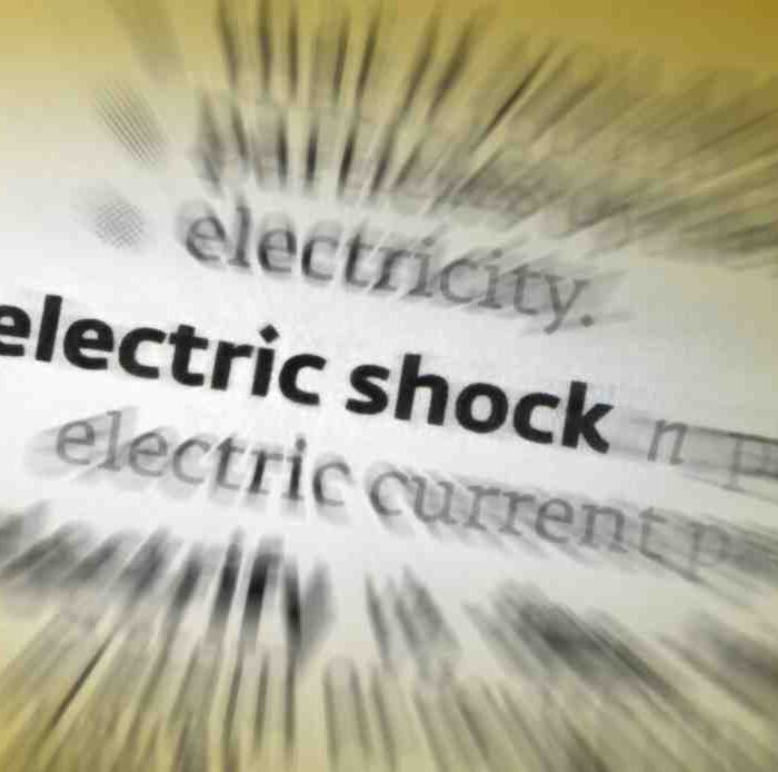 What to do when get electric shock